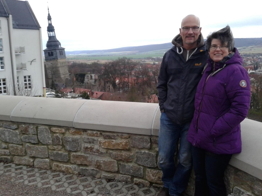 Christiane and Thomas are celebrating their 25th anniversary