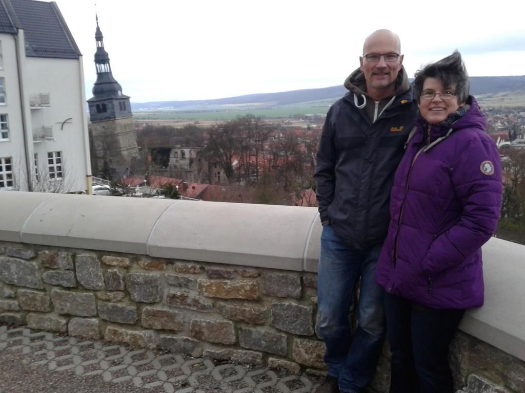 Este año, Christiane y Thomas han celebrado su 25 aniversario
