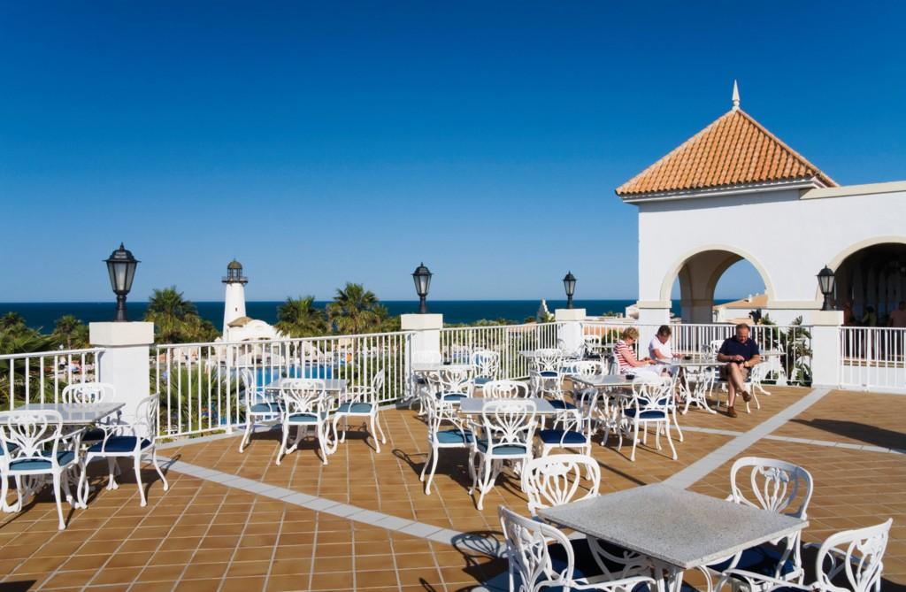 ClubHotel Riu Chiclana terraza