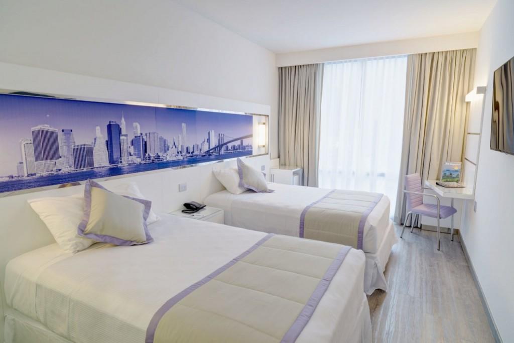 Habitación Deluxe dos camas dobles