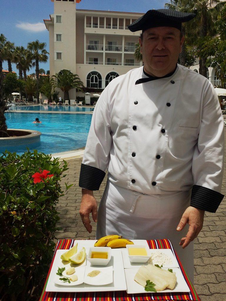 Chef Pedro Moreno