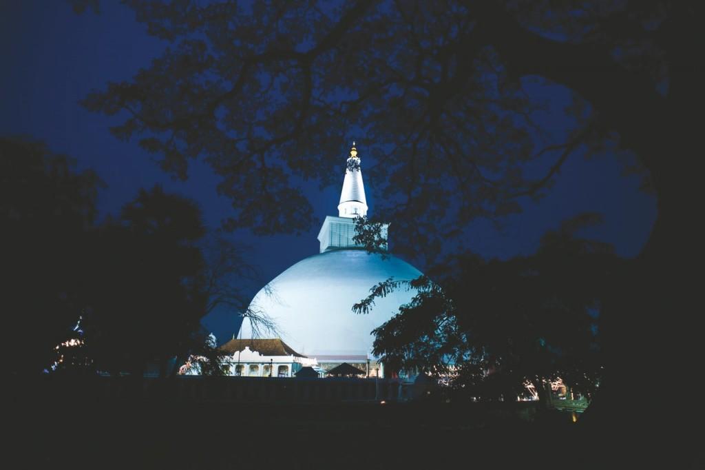 Anuradhapura, una de las capitales más antiguas de Sri Lanka
