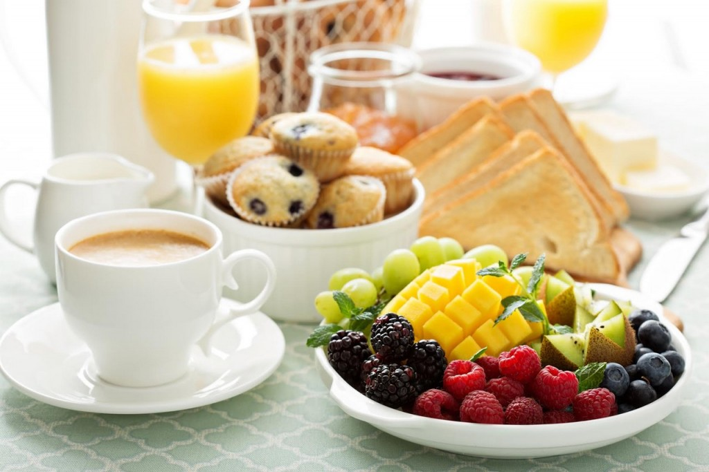 Complete and varied breakfasts