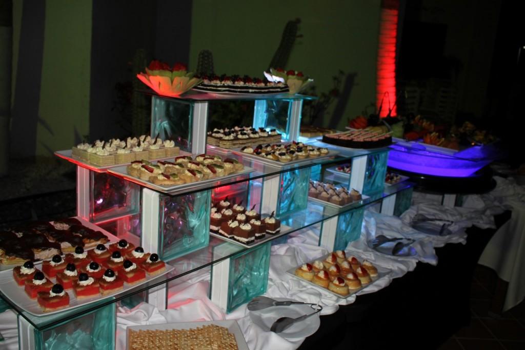 Buffet del hotel Riu Palace Aruba