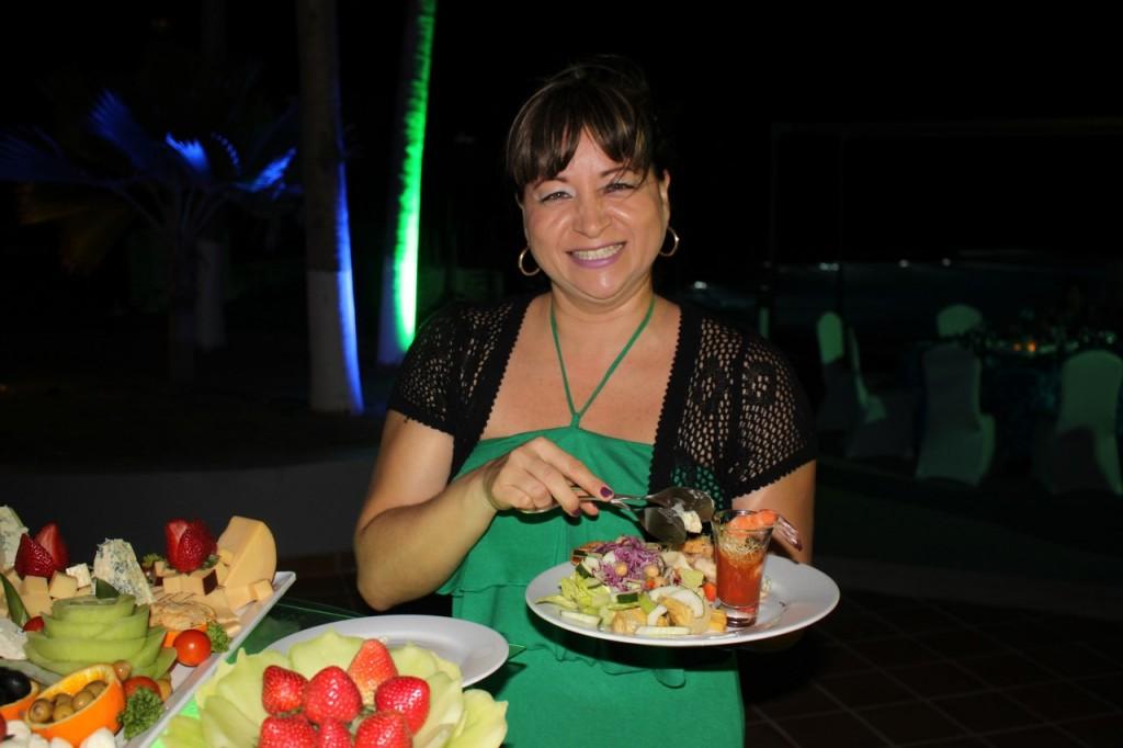 Fiesta de los premios Riu Partner Club 2016 en el hotel Riu Palace Aruba