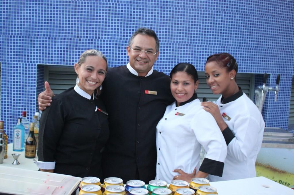 Personal del hotel Riu Palace Aruba