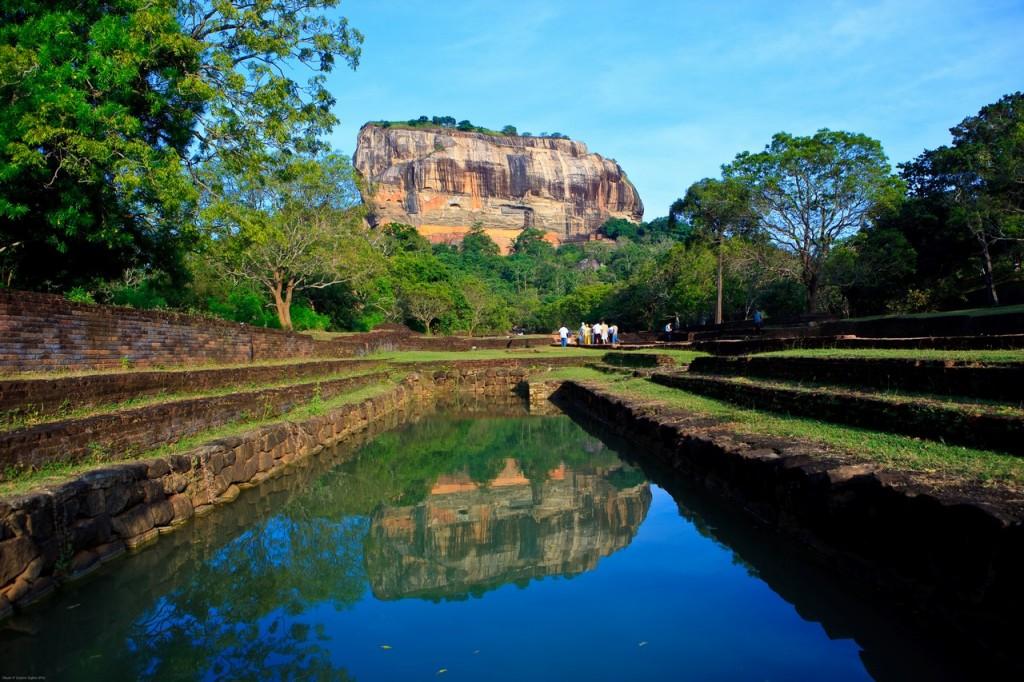 Sigiriya, un yacimiento arqueológico situado en el distrito de Matale