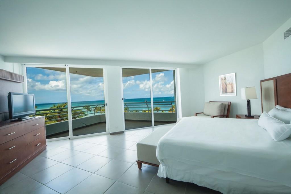 Habitaciones con vistas al mar del Riu Palace Antillas