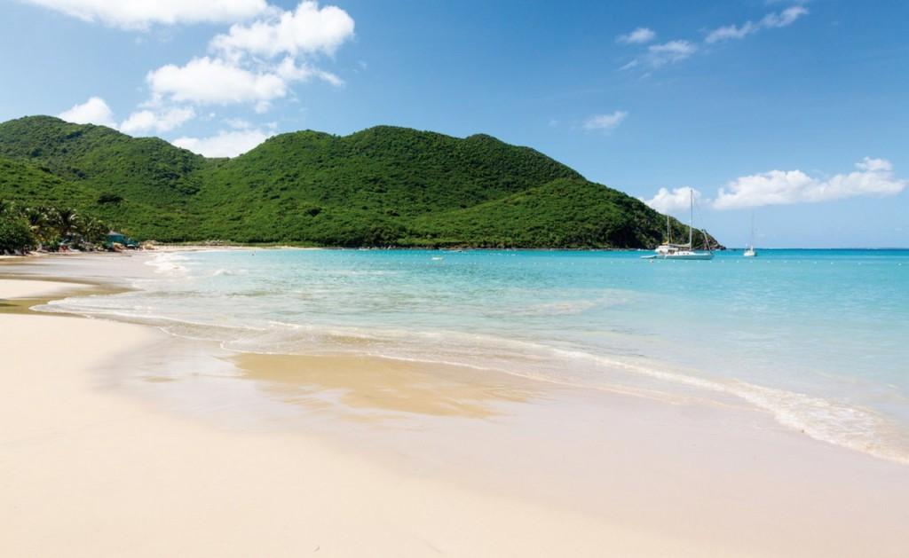 Saint Martin's beach