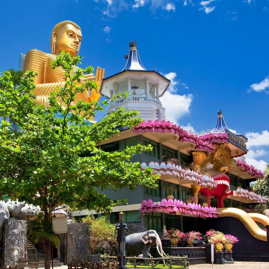 Kandy ist die Hauptstadt des Buddhismus