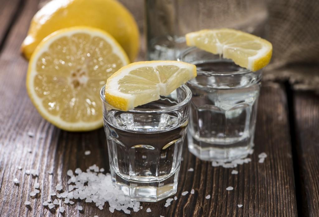 Tequila, sal y limón