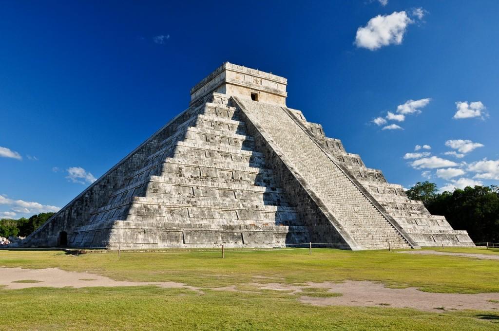 Antigua ciudad de Chichén Itzá