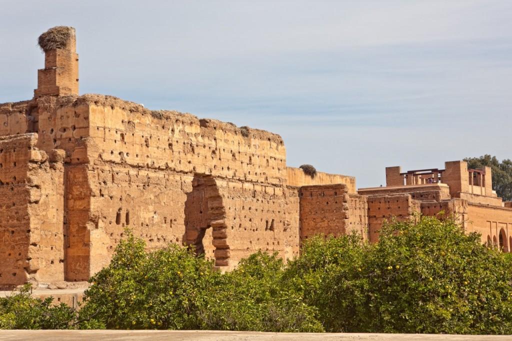 Ruinen des Palasts El Badi
