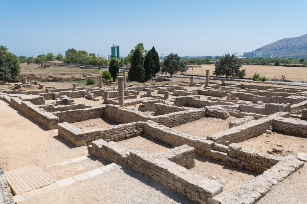 The Roman city of Pollentia