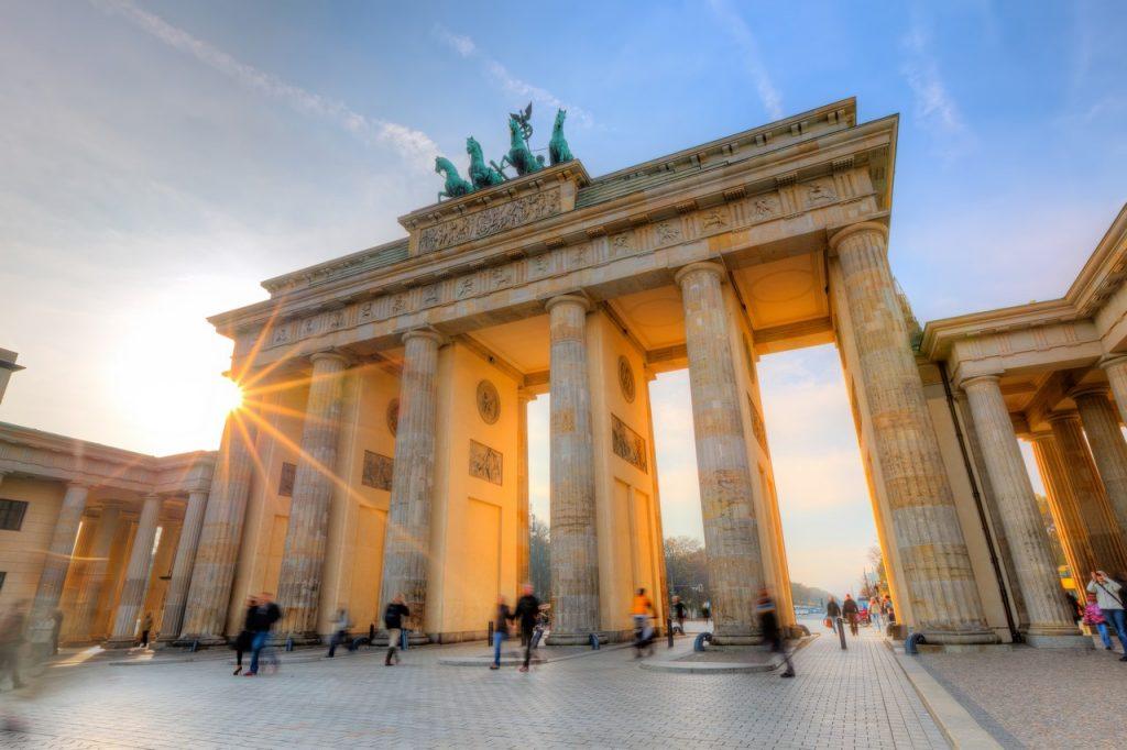 La Puerta de Brandemburgo en Berlín