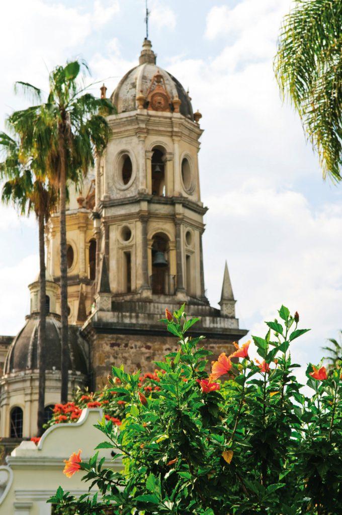 Casco historico de Guadalajara en Mexico