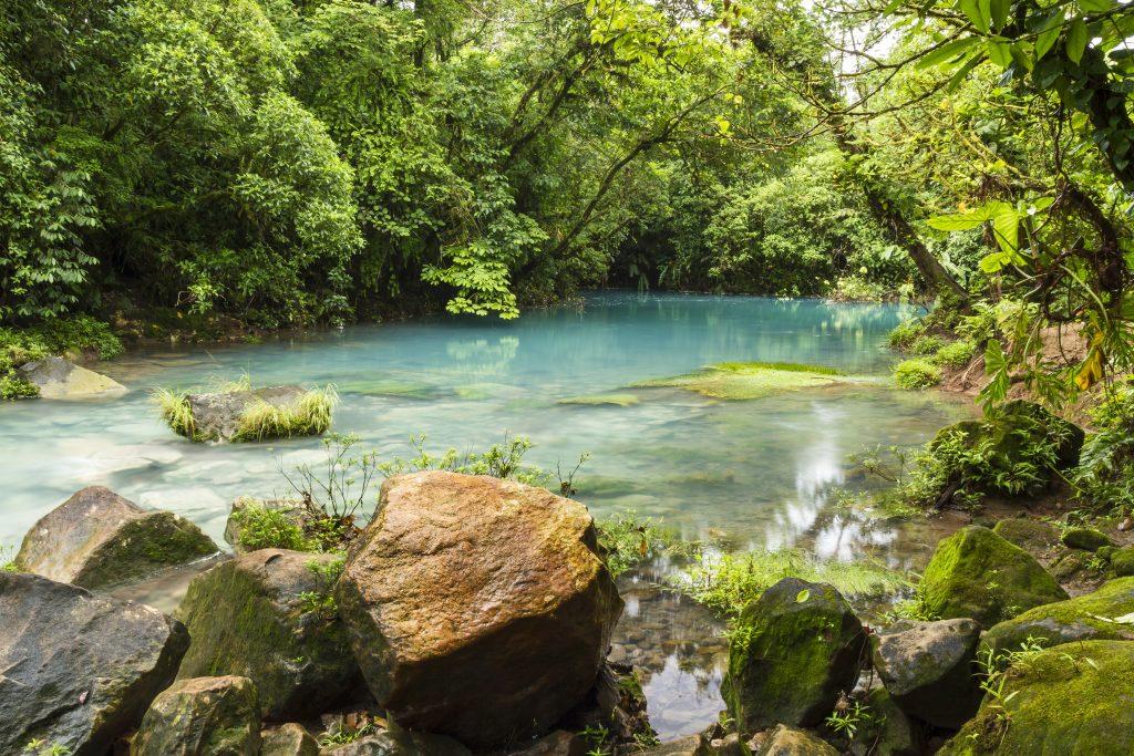 Celeste River Costa Rica
