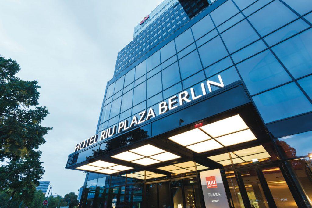 Fachada del hotel Riu Plaza Berlin