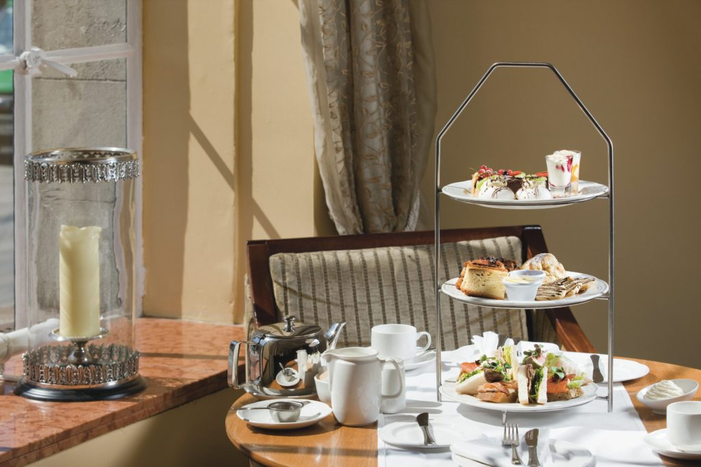 Afternoon tea at the Riu Plaza The Gresham Dublin hotel