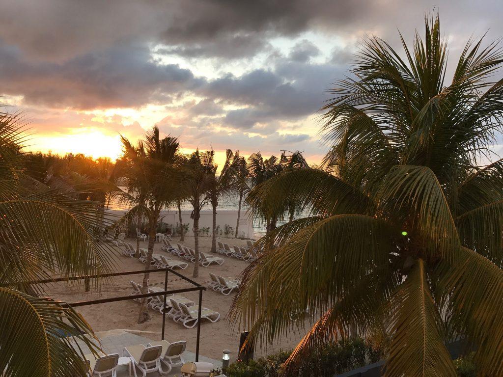 Atardecer en Riu Palace Jamaica
