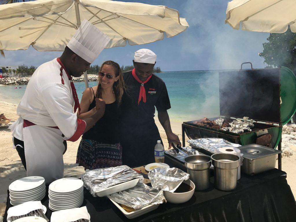 Clase de cocina en RIU Jamaica