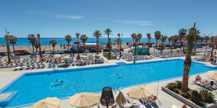 ClubHotel Riu Costa del Sol en primera linea de playa en Torremolinos