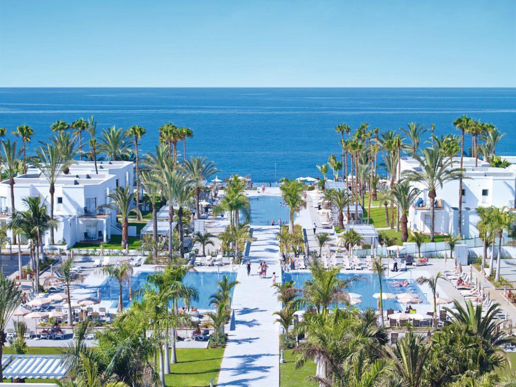 Espectacular vista al mar desde Riu Palace Meloneras