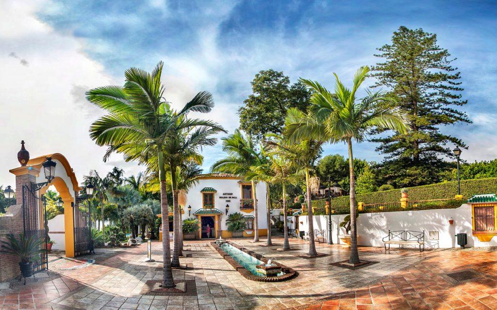 Drei tage in torremolinos abseits der str nde for Casa jardin wellness center
