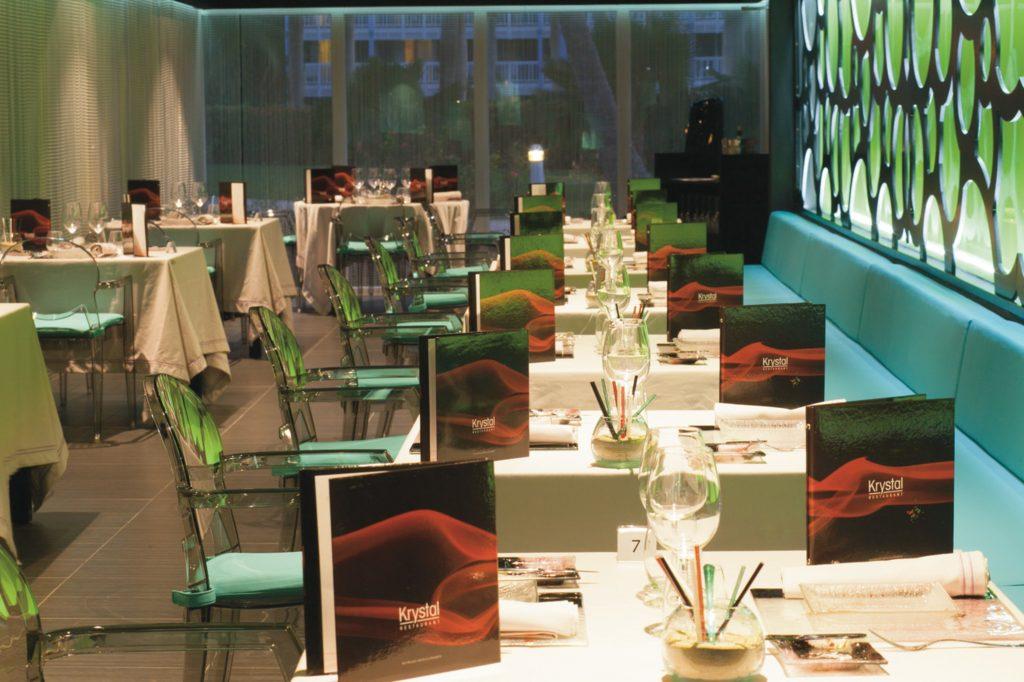 Krystal Restaurant Riu Palace St Martin