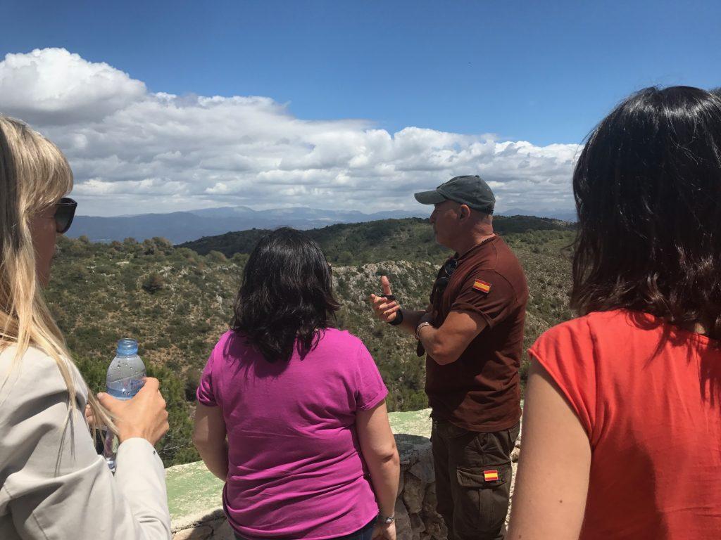 Sierra de Torremolinos con guarda