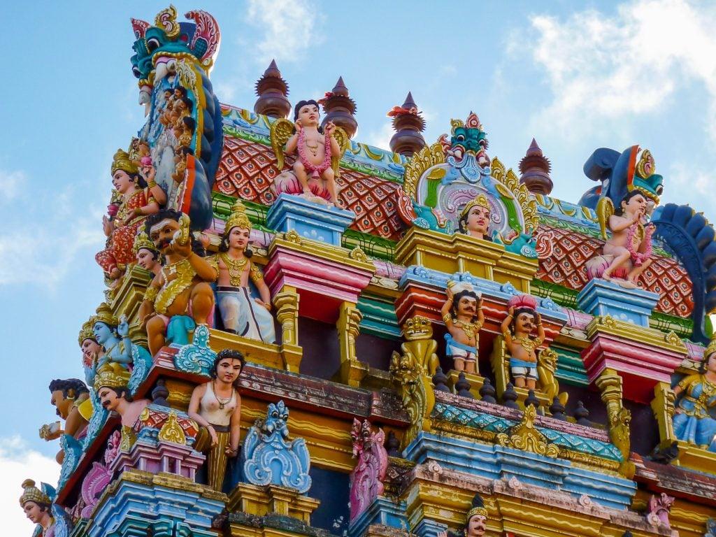 Templo hindu Mauricio
