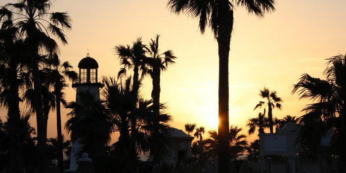 Puesta de sol en ClubHotel Riu Chiclana