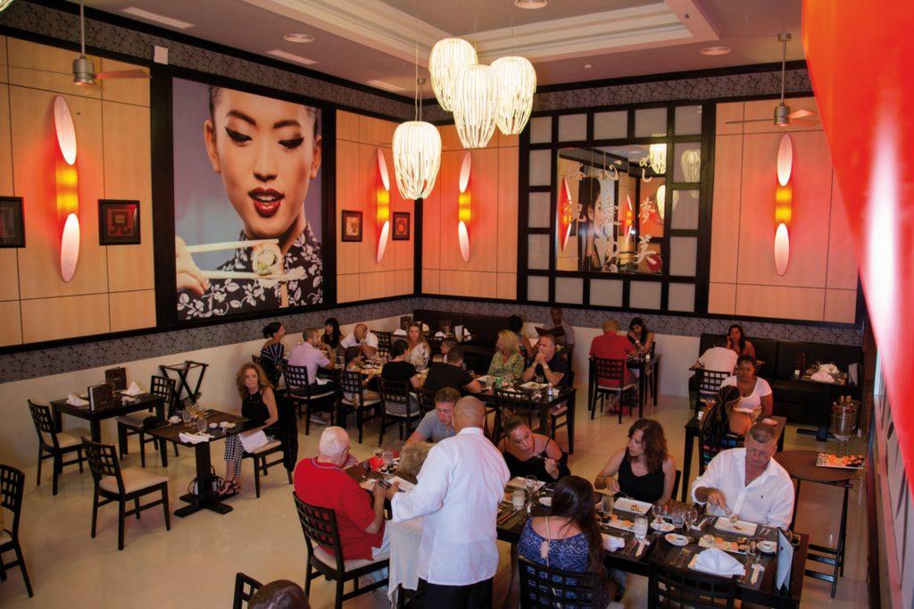 Restaurante Riu Palace Aruba - Todo Incluido en Aruba