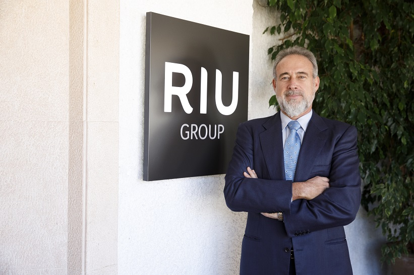 Luis Riu, CEO de RIU Hotels & Resorts