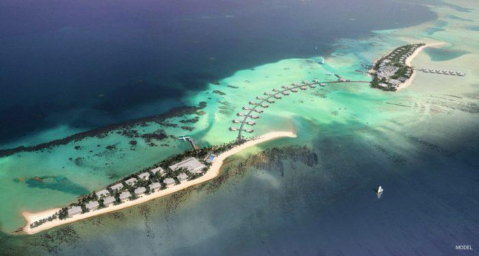 Puedes alojarte en Riu Palace Maldivas o Riu Atoll
