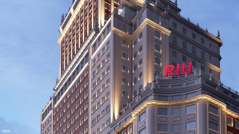 El Riu Plaza España es uno de los grandes proyectos de Luis Riu para 2019
