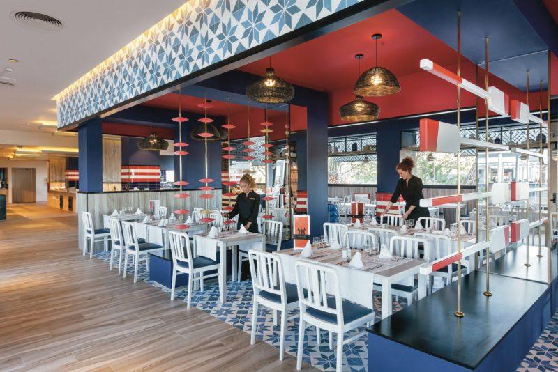 Andalusian restaurant at the Hotel Riu Costa del Sol