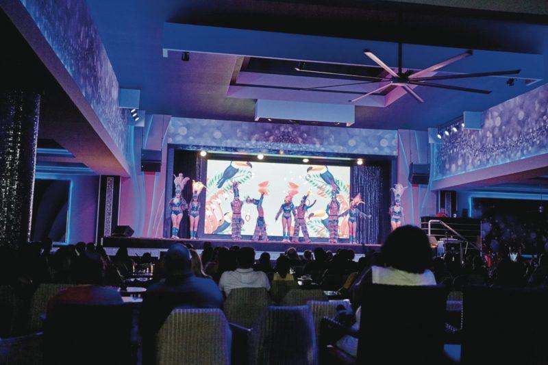 Todos los hoteles RIU de Punta Cana cuentan con espectáculos nocturnos