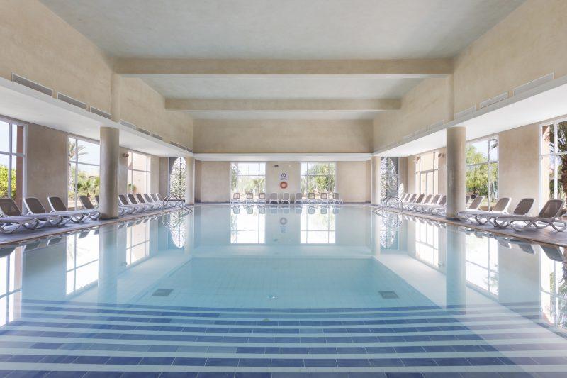 Indoor pool of the hotel