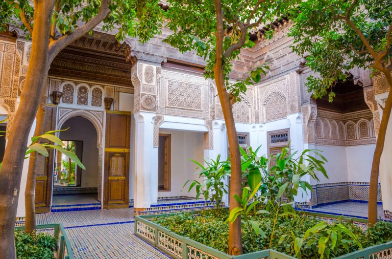 Interior del Palacio Bahía está lleno de sorpresas