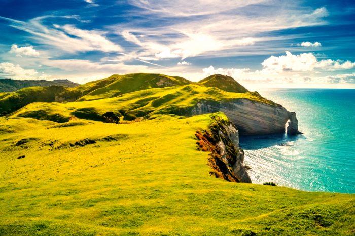 Una de las principales características de Irlanda son sus preciosos paisajes verdes