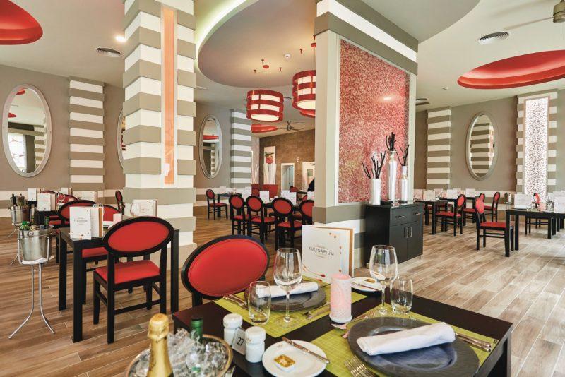 You will enjoy fine dining in RIU hotels' Restaurant Kulinarium