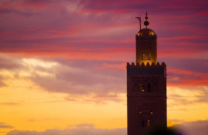Die Koutobia-Moschee ist fast in der ganzen Stadt weithin sichtbar
