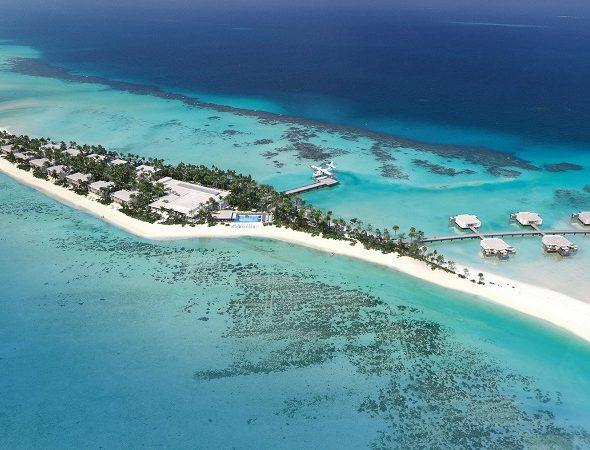 Die Insel Kedhiganduansicht-riu-palace-maldivas: Die Insel Kedhigandu