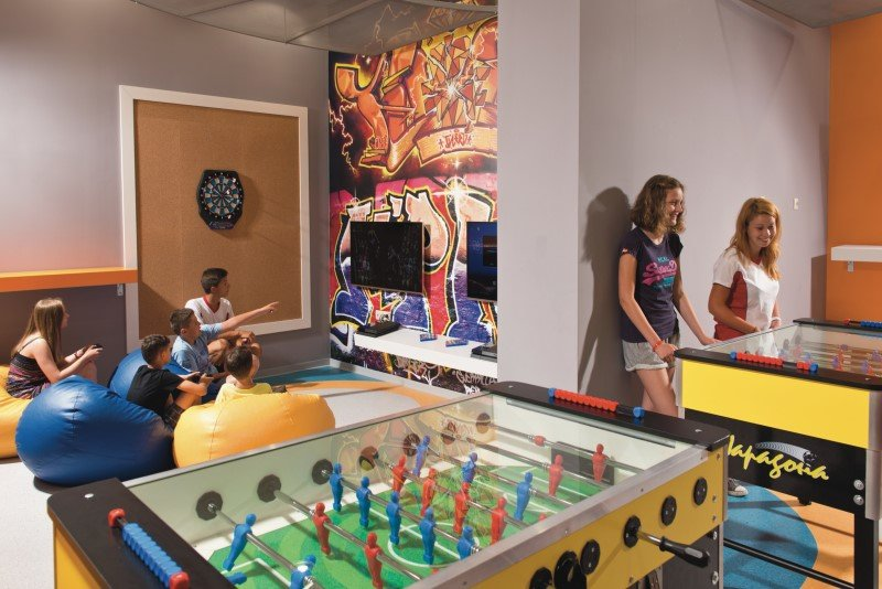 The activities in the Riu4U space are aimed at teenagers