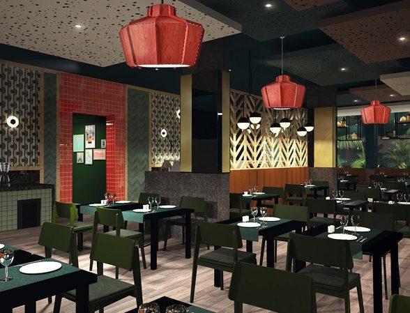 Das italienische Restaurant befindet sich im Hotel Riu Atoll