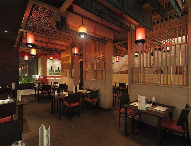 Japanisches Restaurant im Hotel Riu Palace Maldivas