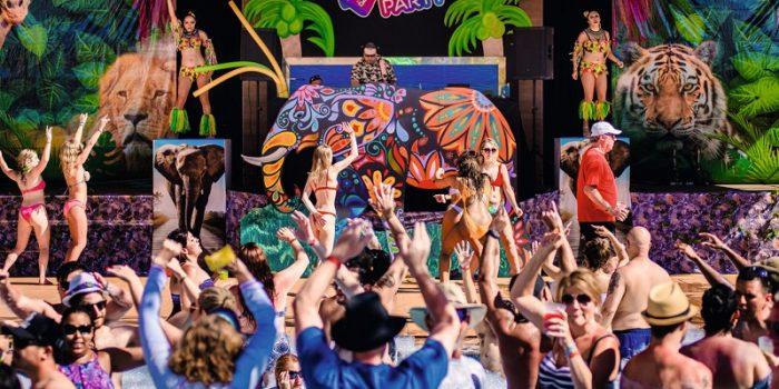 La Riu Pool Party se inspira en la gran pasión de Luis Riu por la música y por ejercer de DJ en su tiempo libre
