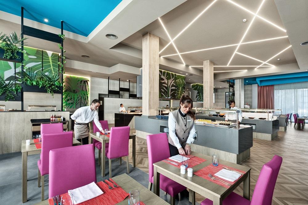 Dank der Erneuerung sehen die Restaurants vollkommen anders aus