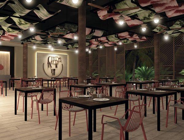 los clientes podrán degustar en este espacio una gran variedad de carnes asadas